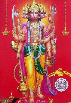 lord panchmukhi hanuman