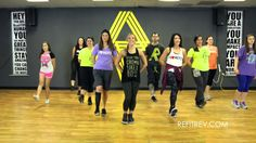 """Little Toy Guns"" Carrie Underwood video dance fitness choreography by R..."
