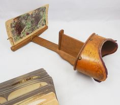 Stereoscope and Stereographs Antique 1880s by ShellyisVintage