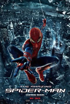 Psyched for 'The Amazing Spider-Man'? Well, it's only a couple weeks away. Here's a movie poster to get you even more pumped.