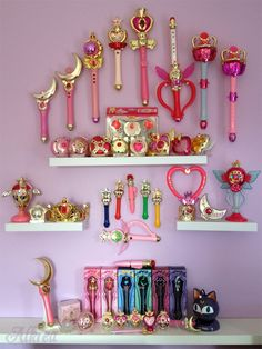 If I didn't have kids who would want to play with them, I would SO buy everything Sailor Moon