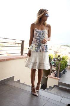 • DAMSEL DISCOVERIES • TAKE SEVEN | Damsel in Dior - DVF skirt, Valentino heels, Cartier bracelets
