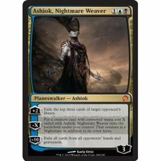 Magic: the Gathering - Ashiok Nightmare Weaver (188/249) - Theros - Foil #Magic #mtg #planeswalkers #cards #tgc #ccg