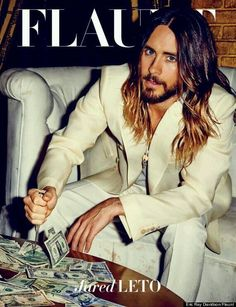 Jared Leto Flaunt Magazine Photoshoot.