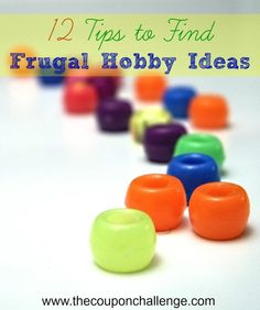 List of 12 frugal hobby ideas to help you save and get creative.  Hobbies can be anything you want from gardening to reading to sewing, but they don't have to break the bank.  Some of these ideas can even SAVE you money!