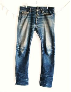 Worn in indigo denim