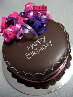 feliz cumpleaños pastel de chocolate 7