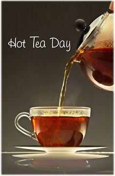 January 12 is Hot Tea Day