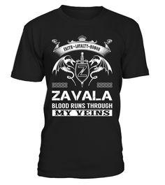 ZAVALA Blood Runs Through My Veins
