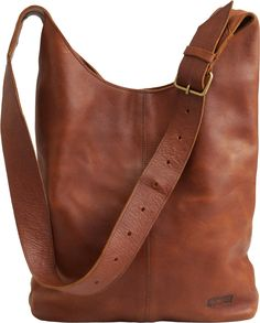 Lifetime Leather Crossbody Sling Bag lives up to its name with timeless good looks that you'll still love a decade from now.