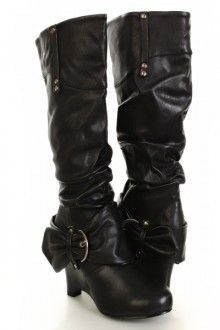cheap knee high boots 34 #shoes #cuteshoes