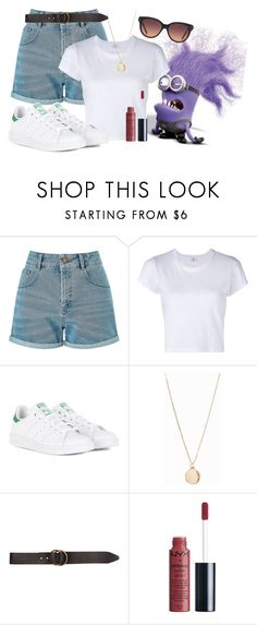 """""""Attraction park"""" by luludedid on Polyvore featuring mode, Miss Selfridge, RE/DONE, adidas, NLY Accessories, Billabong et MANGO"""