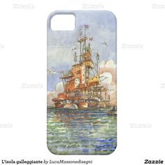 L'isola galleggiante barely there iPhone 5 case