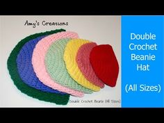 Crochet Breast Cancer Awareness Hat With Video  