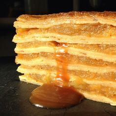 Gâteau de crêpes façon Tatin - C& Choux Waffles, Pancakes, Breakfast, Food, Omelettes, Deep Frying, Buttermilk Pancakes, Sprouts, Recipes