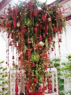 Upside down Christmas Tree~
