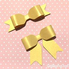 Free Cutting File for 3D Bow