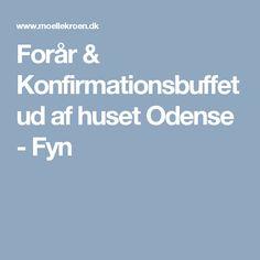 Forår & Konfirmationsbuffet ud af huset Odense - Fyn