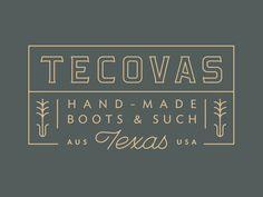 @Sputnik Creative custom boot brand. Logo design typography lock up