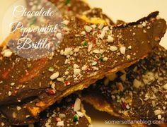 Somerset Lane: Chocolate Peppermint Brittle