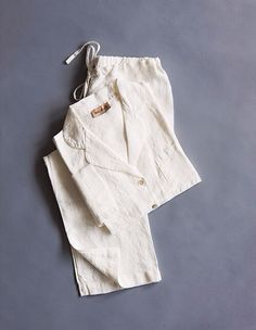 Balmuir linen home wear, picture from Olivia magazine Finland