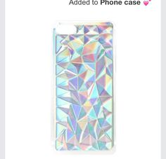 My phone case Claire's $12.50