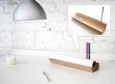 Merchant 4 - Place For Trace pen/pencil and tracing paper roll holder