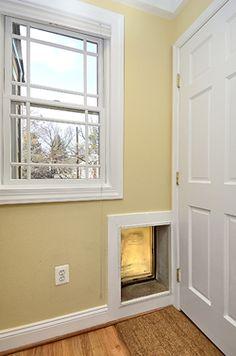 Built In Pet Door #Pet #Door #PetDoor