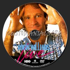 Robin Williams Live at the Met DVD label