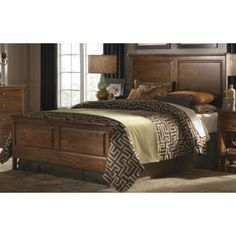 The Burkesville Panel Bedroom Set From Ashley Furniture HomeStore - Burkesville bedroom furniture