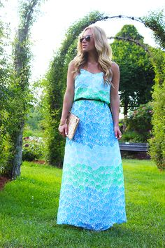 Lilly Shell Maxi Dress