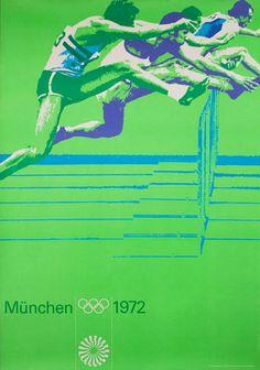 Munich 1972 Olympic Games - Athletics, by Otl Aicher