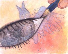 Aya Takano from Japan Aya Takano, Superflat, Illustrators, Modern Art, Cool Art, Japan, Bird, Sketch, Posters