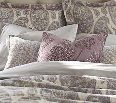 Grant Foulard Lumbar Pillow Cover #potterybarn