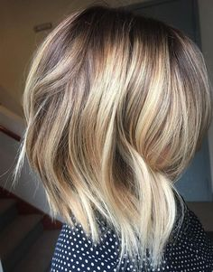 Hair Color Ideas for Free Lights Balayage on Short Hairstyles 2017 - 2018 Season