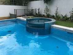 Pool and Spa Combination