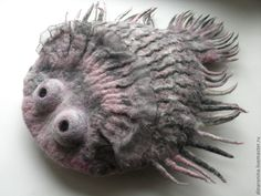 Войлочная рыба-камбала - Дина Ронина - Ярмарка Мастеров http://www.livemaster.ru/item/3511425-kukly-igrushki-vojlochnaya-ryba-kambala