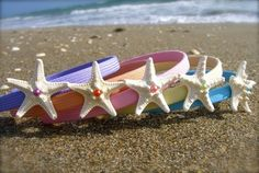 Mermaid party favor - starfish headbands