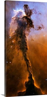 Stellar Spire in the Eagle Nebula