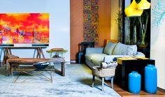 """Destaque tendências do multicolorido no ambiente by kátia Borges e Simone Amoroso no blog da Espaço e Forma """"Como usar cores na decoração da sua casa""""(www.espacoeforma.com.br/blog/2015/11/03/como-usar-cores-na-decoracao-de-sua-casa/). #katiaborges #simoneamoroso #espacoeforma #decor #cores #pantone2015e2016 #tendencias #ficaadica #decoraçãonasuacasa"""