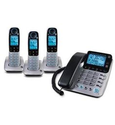 GE 30524EE4 DECT 6.0 Technology 1.9GHz Corded Cordless Phone Combo 4 handsets by GE/RCA. $74.22. The General Electric 30524EE4 is a corded phone that comes with three accessory handsets that are equipped with DECT 6.0 technology, which alows interference free communication, increased clarity, enhanced security and wider range. Moreover the corded base stays in operation during power failure to allow you to make emergency calls.  The 30524EE4 features digital answ...
