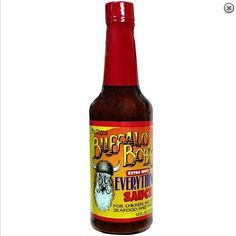 Bob's Extra Spicy Everything Sauce Party Dips, Worcestershire Sauce, Omelet, Hot Sauce Bottles, Beer Bottle, Vinegar, Everything, Soups, Seafood