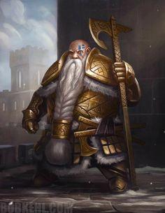 Fantasy Dwarf, Fantasy Rpg, Medieval Fantasy, Fantasy Artwork, Fantasy Character Design, Character Inspiration, Character Art, Character Portraits, Dungeons And Dragons Characters