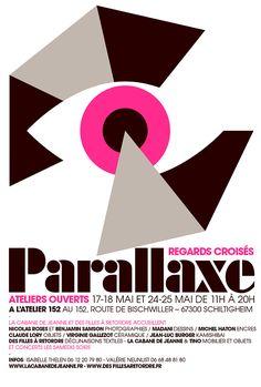 PARALLAXE Poster par Tino