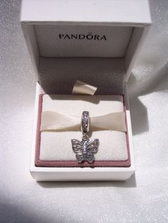 Pandora Charm Love Takes Flight CZ Authentic by JEWELSELAGANT, $40.00
