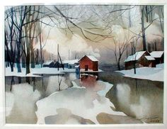watercolors by Colotov