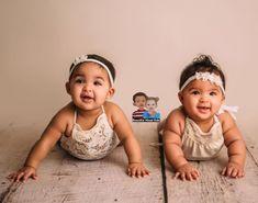 Natalie & Norah - 5 Months • Caucasian & African American ♥️♥️