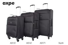 Axpe 2015 lightweight luggage collection #luggage #axpe