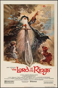 The Lord of the Rings - movie poster - Fine+ (6.5)