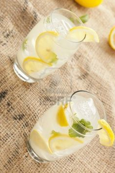 Lemonade, Panna Cotta, Good Food, Mint, Organic, Fresh, Drinks, Ethnic Recipes, Google
